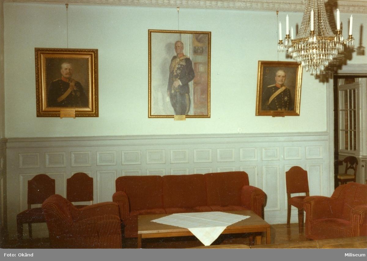 Regementsofficersmässen, A 6. Interiör.