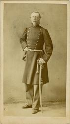 Porträtt av okänd kapten.