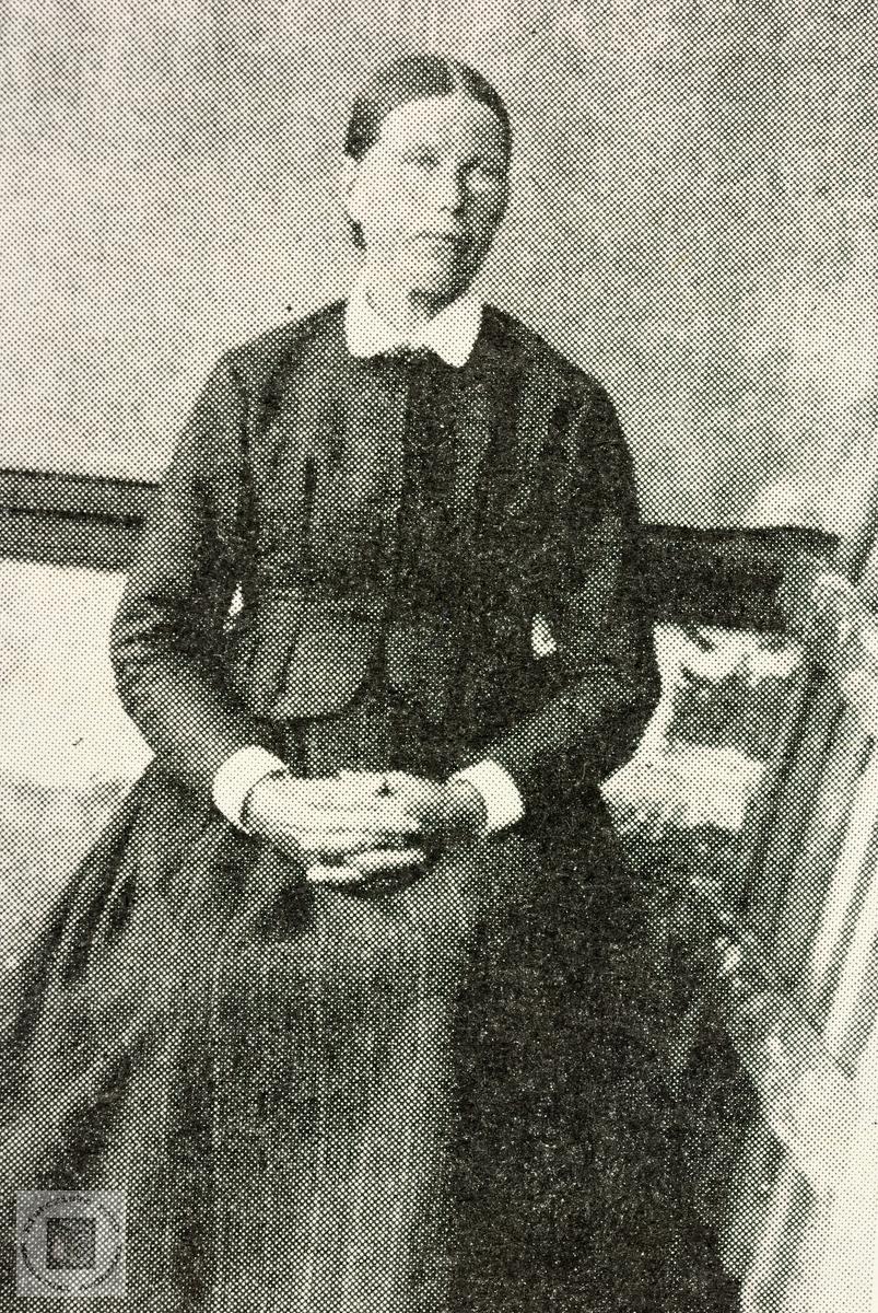 Portrett av Ingeborg Fuglestveit. Grindheim.