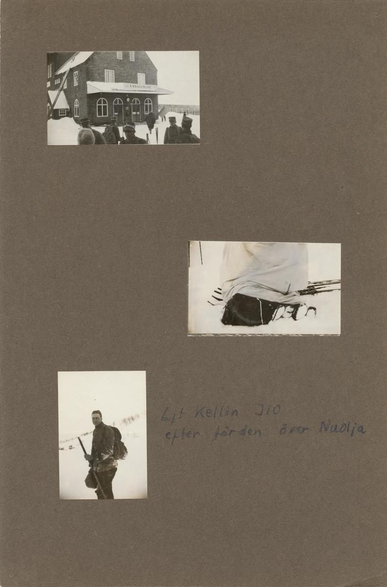 Göta livgardes stridsvagnsbataljonens vinterövning i Nuolja.