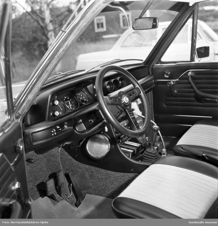En BMW-bil, fotograferad för Motor Nord.