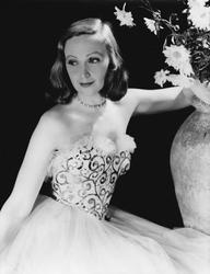 Porträtt av skådespelerskan Inga Tidblad (1901–1975)