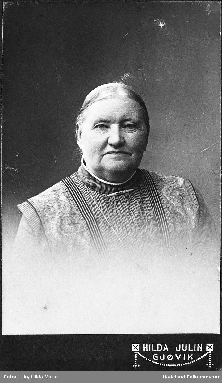 Anne Hvamstad født Anne Nilsdatter Melby