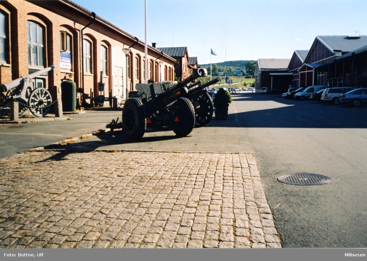 Försvarshistoriska muséet. Exteriör.