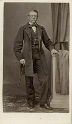 Porträtt av Anton Fredrik Cronstedt, kapten vid Marinregemen