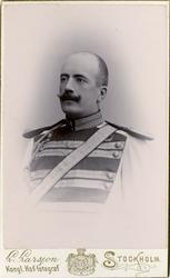 Porträtt av Knut Alfred Hjalmar Cassel, ryttmästare vid Livr