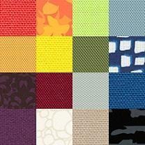 Taktile prøver forteller om villaens tekstiler