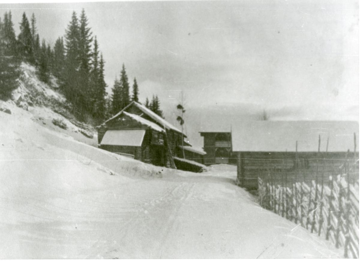 Milevatnet, Husmannsplass på Leirskogen, Sør-Aurdal
