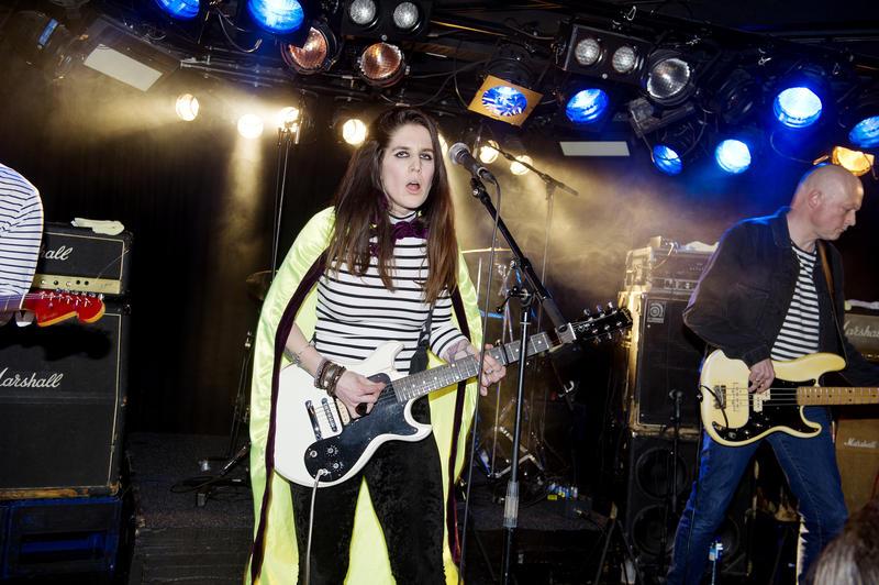 Fra konserten med Übertøs. Foto: Helge Skodvin.