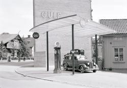 Gulftappen vid Trädgårdsgatan, Uddevalla 1938