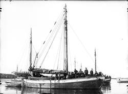 Fiskeskøyte Reg. S819