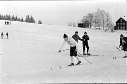 Alu, Alhaug østre, Alujordet, skiløpere, langrenn,
