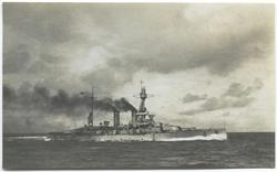 Minne från örlogflottans ungdomsdag 8 / 9 1929 Pansarskepp