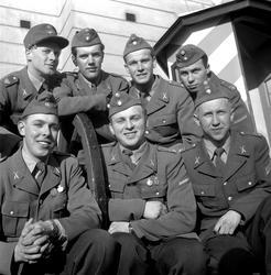 De bästa soldaterna på I3.  Mars 1956.