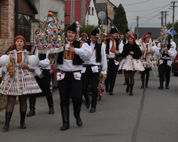 Tsjekkiske folkedrakter. Foto/Photo