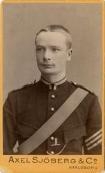 Porträtt av Ernst Georg Fält-Ekefors, sedermera tygförestånd