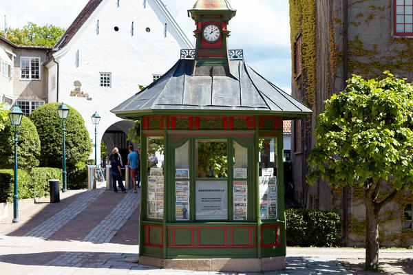 Kiosk. Foto/Photo