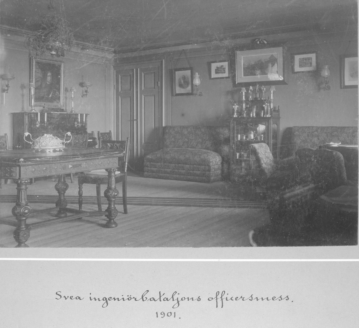 Svea ingenjörbataljon Ing 1 officersmäss 1901.
