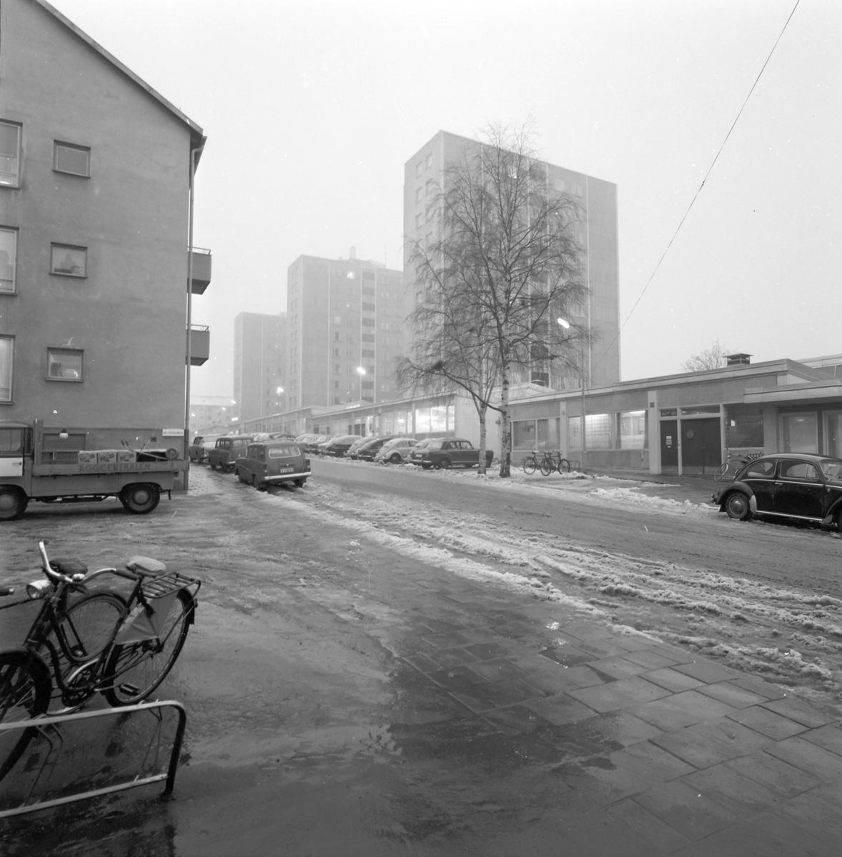 Den 28 november 1960. Höghus. Centrala Söder.
