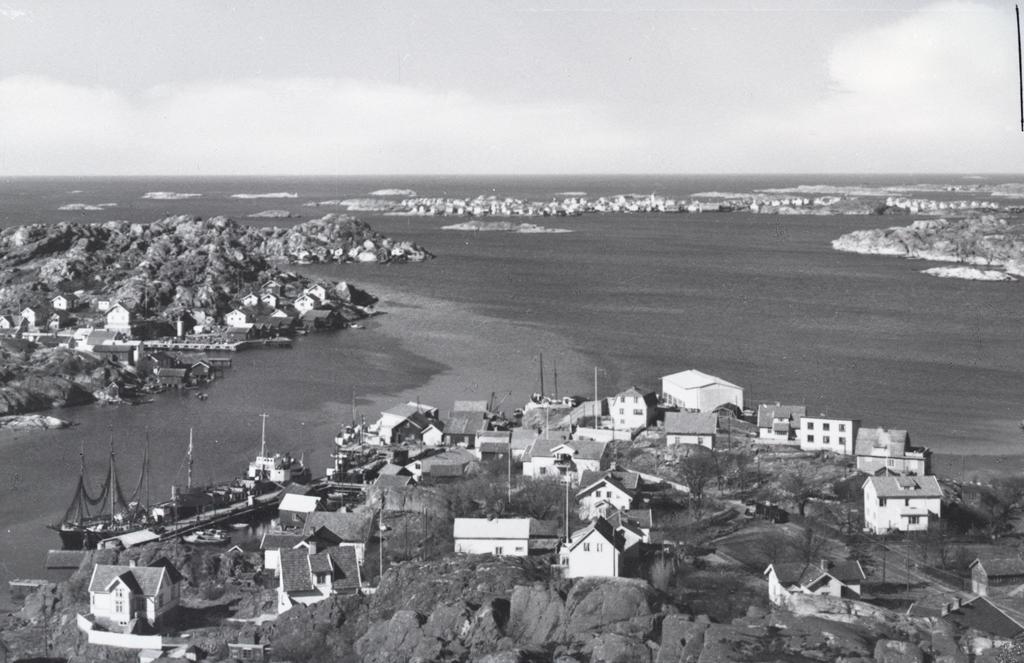 Rönnäng på Tjörn 1953