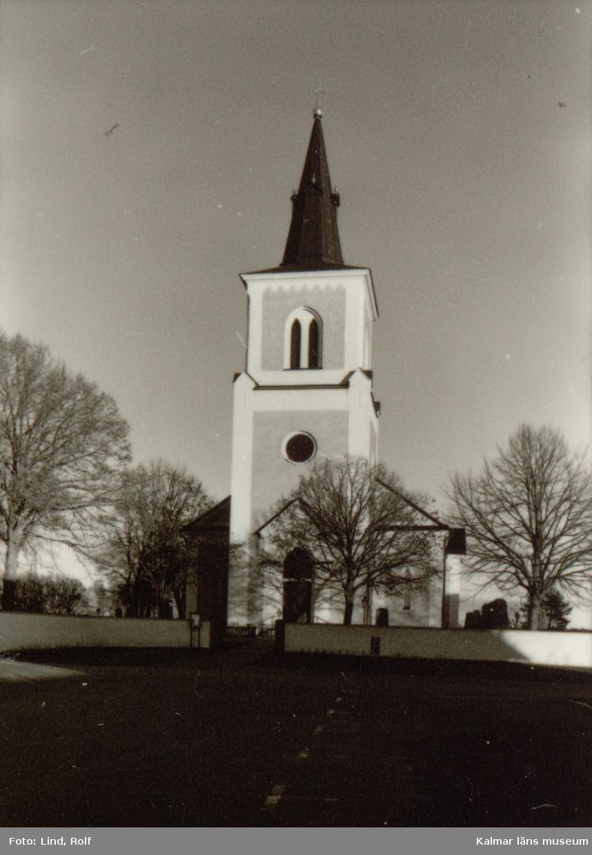 Foto:Rolf Lind, nov. 1990. Dominerande stilepok,exteriör: Gustaviansk Dominerande stilepok, interiör: Gustaviansk Uppförande, hela kyrkan:1855-1859