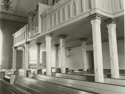 Småland Virserums socken Kyrkan  Virserums kyrka