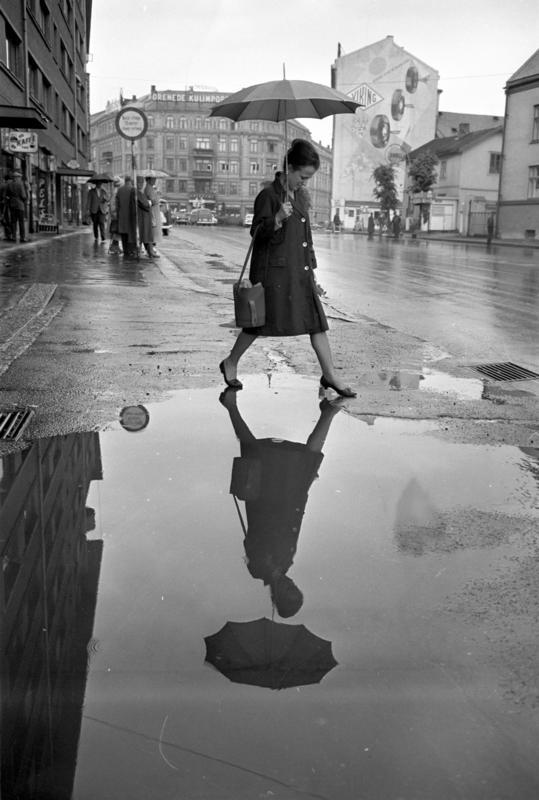 Regn i Oslo, juni 1963
