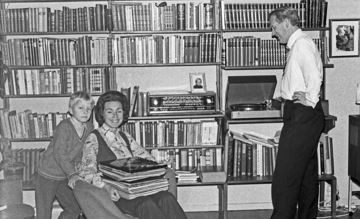 Hjemme hos Ivar Folgerø og familie.