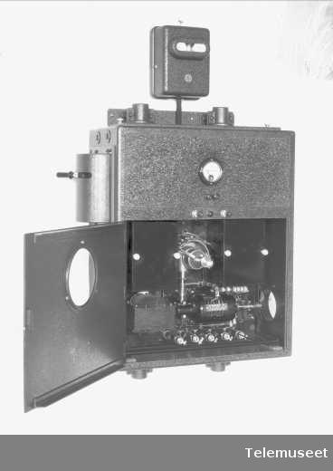 Auto alarmapparat for skip, Elektrisk Bureau