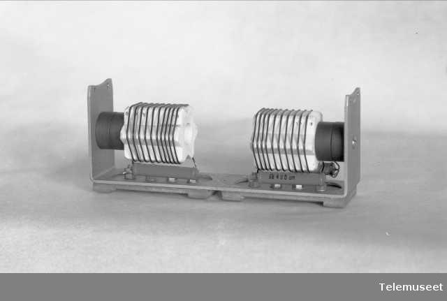 Kortbølgespole for skipsmottaker 1-SM-4, Elektrisk Bureau.