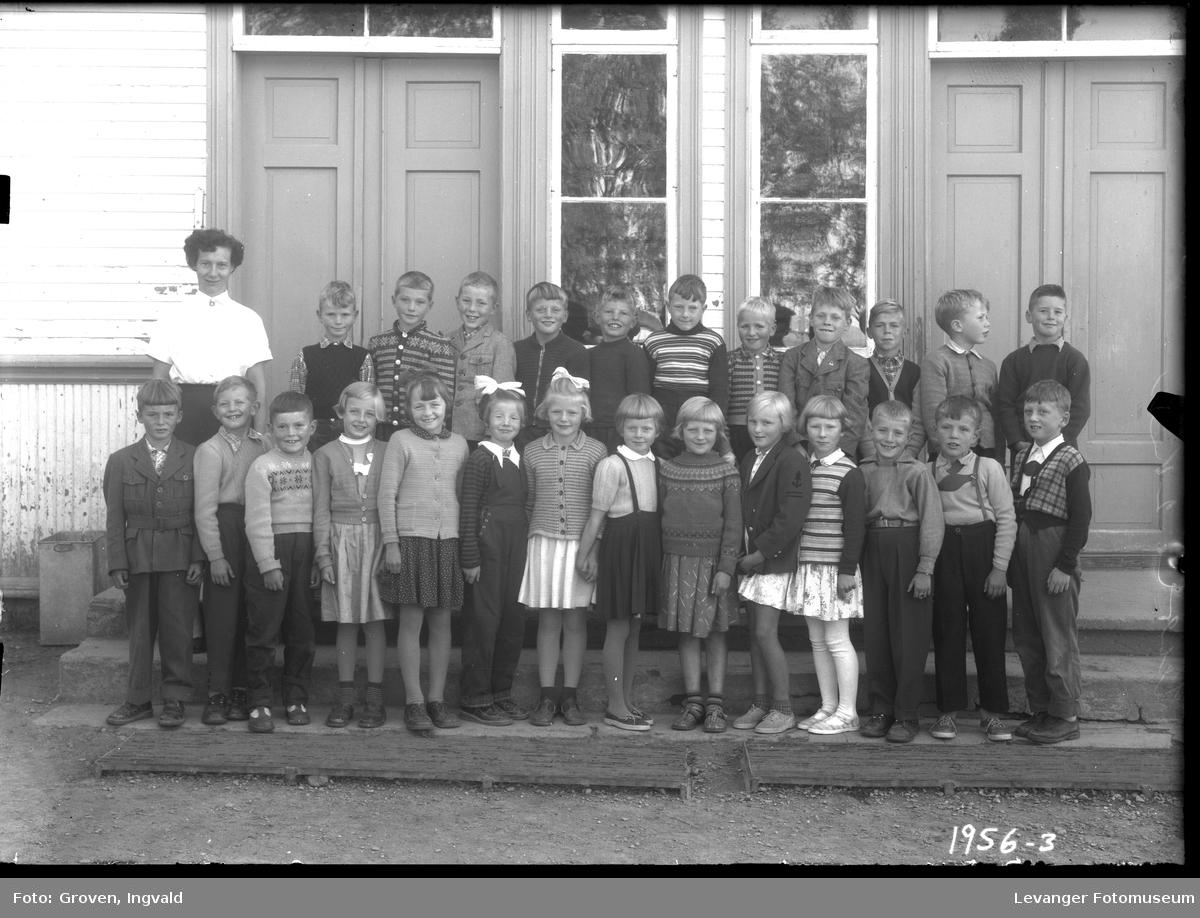 Skolebilde fra folkeskole, Hegle skole