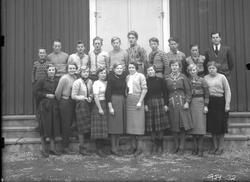 Skolebilde, Solhaug skole i Åsenfjord.