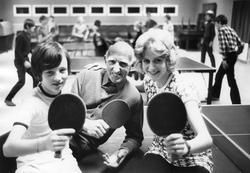 Foto taget 1970.  Från vänster: Stefan Larsson, Flugeby, Er