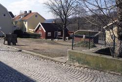 Tomten Roten M 38 intill Kvarbyparken i Kvarnbyn, Mölndal, i