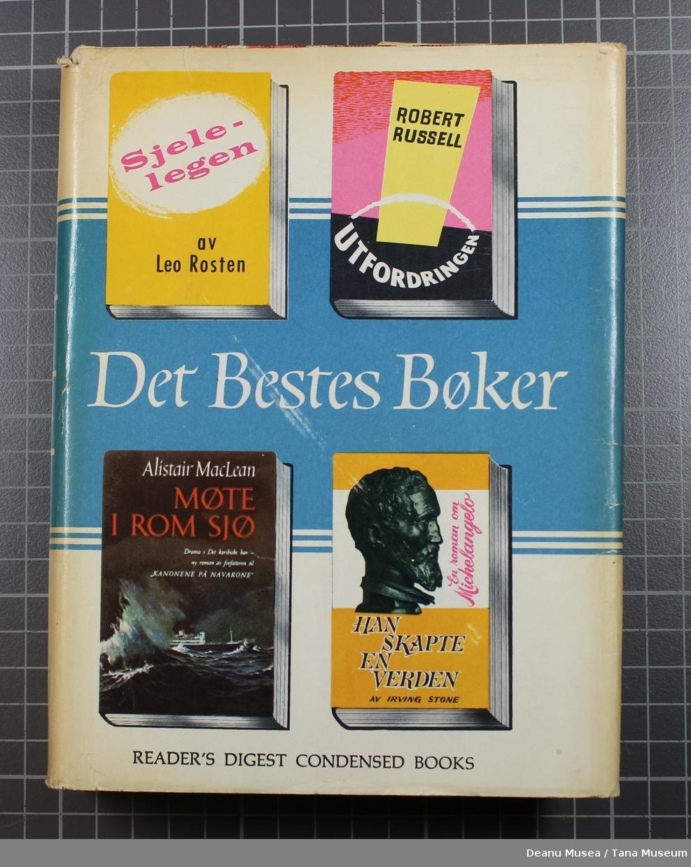 Utfordringer av Robert Russel Han skapte verden av Irving Stone Sjelelegen av Leo Rosten Møte i rom sjø av Alistair Mae Lean