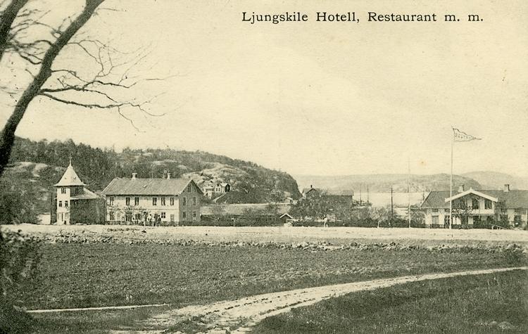 "Enligt Bengt Lundins noteringar: ""Ljungskile. Hotell, Restaurant mm""."