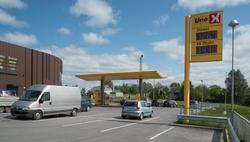 Uno X bensinstasjon Senterveien Vestby