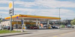 Shell bensinstasjon Nordens vei Skjetten Skedsmo