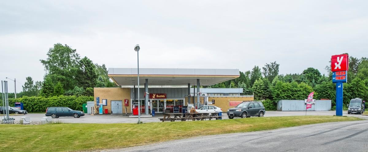 YX bensinstasjon Nedre Vilbergvei Eidsvoll