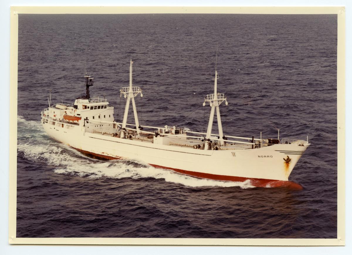 Kylfartyget ms Norrö ägdes av Rederi Ab Gustaf Erikson (grundat av Gustaf Erikson)1981 - 1984.