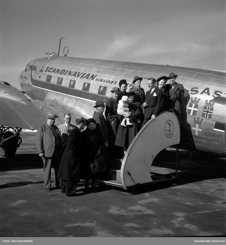 Påskresenärer tar flyget från Midlanda.