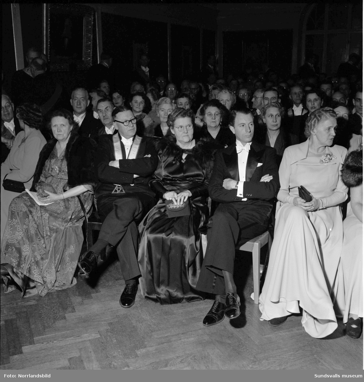 Verdandis 60-årshögtid firas på Stadshuset.
