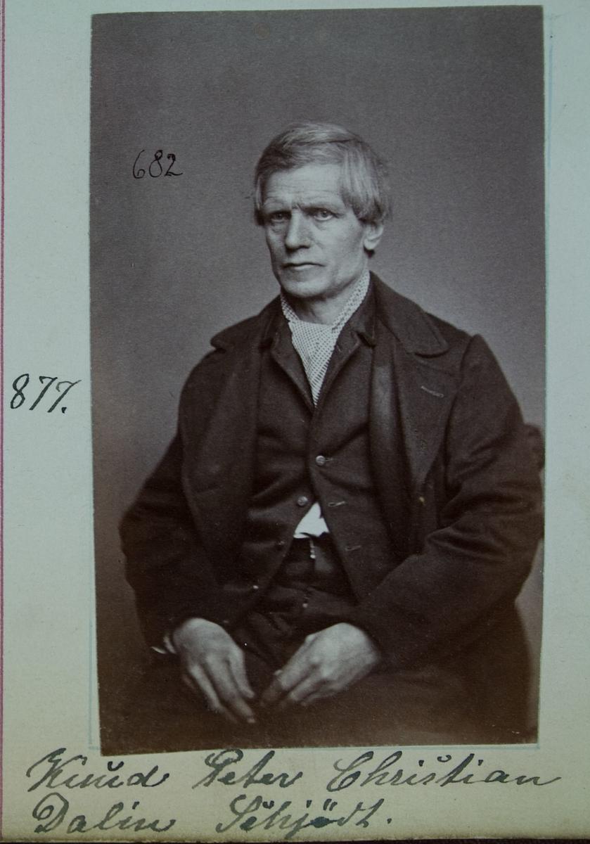 Fangeportrett, Knud Peter Christian Dalin Schjødt
