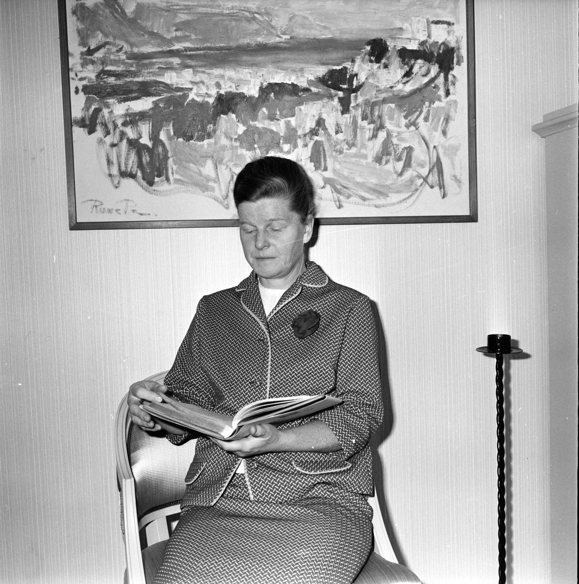 Ekh Ester, Hemvårdarinna, Bollnäs, 19 September 1966