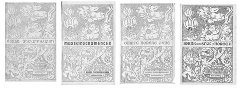 Kataloger til særutstillinge (Foto/Photo)