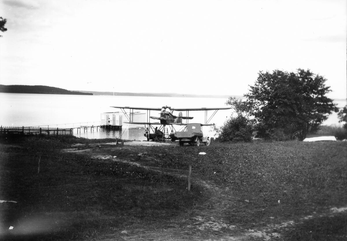 Flygplan. Foto 1923.