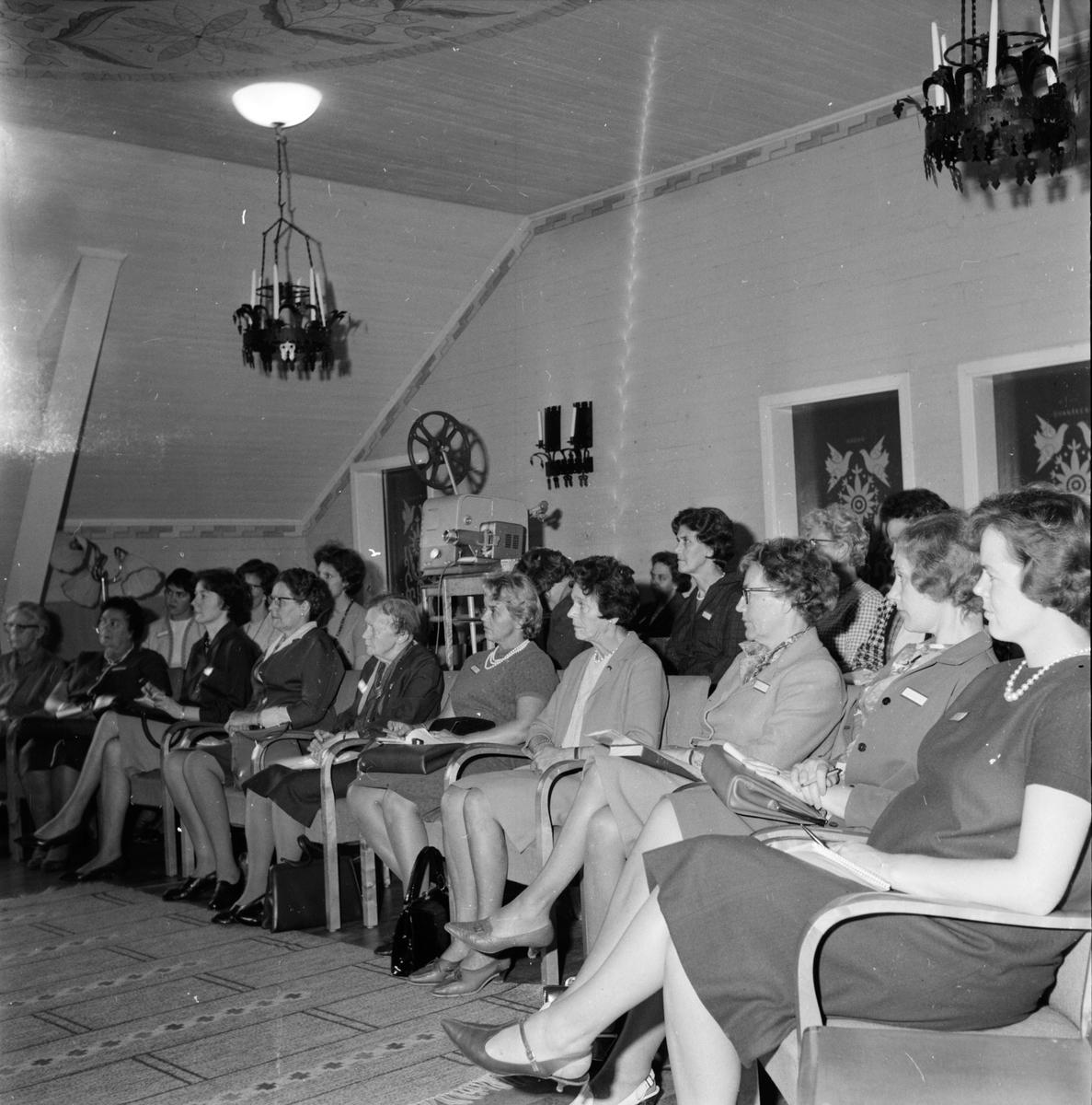 Undersviks Stiftsgård, Konstkurs, Konstnär Karlström, 2-3 Oktober 1965