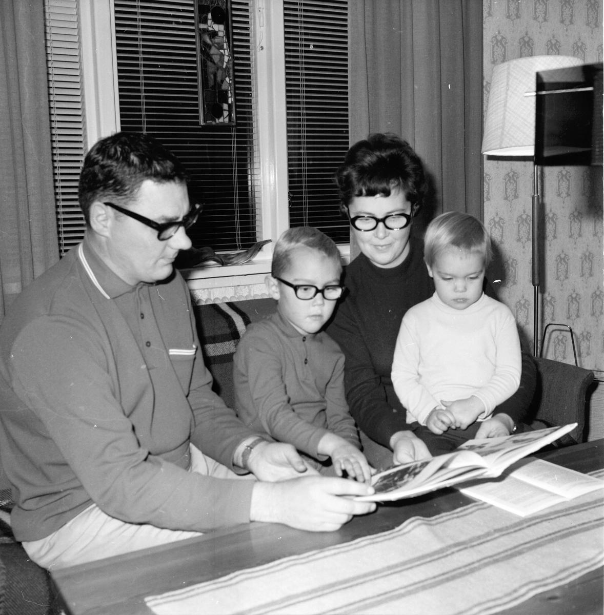 Vallsta, Pastor Viggo Junkes m familj, 15 Okt 1969
