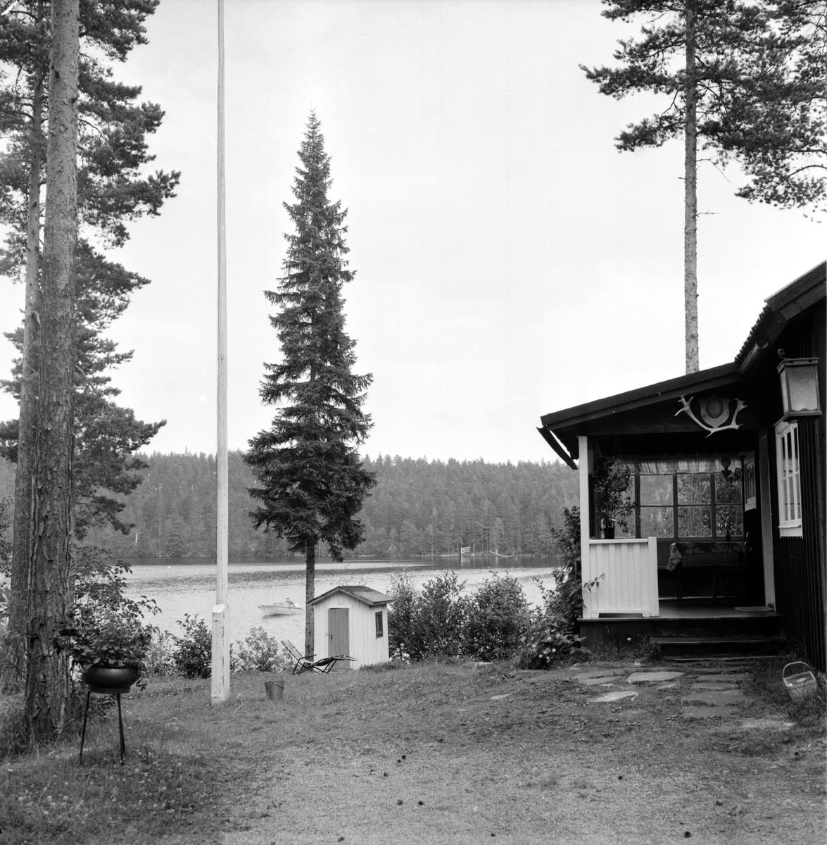 Ovanåker, Rotenonbehandling av Nyasen, 11 Augusti 1964