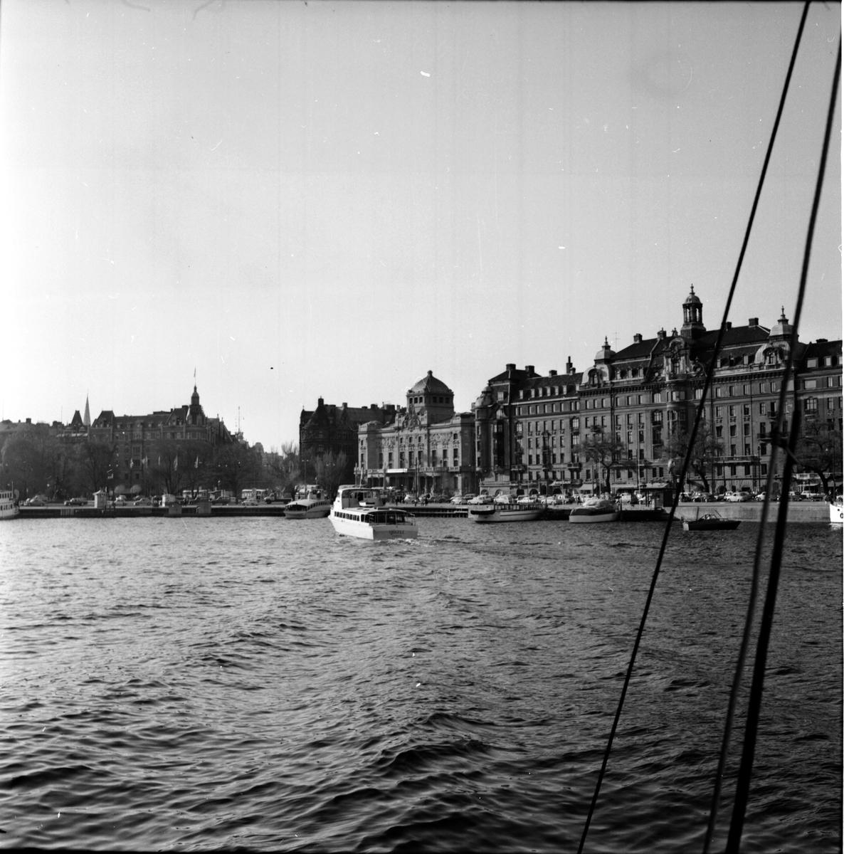 Nybroviken, Stockholm. 18 Maj 1966